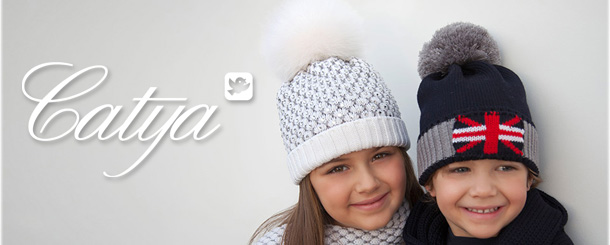 Catya Winter 2014 - Wool Hat With Fur Pom Pom