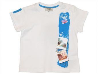 ARMANI BABY Sommer T-Shirt weiß