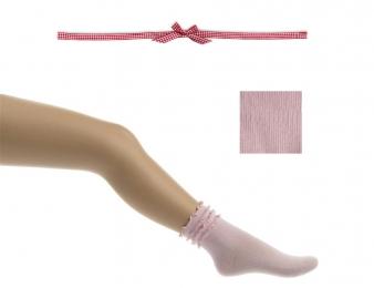 BONNIE DOON Frou Frou Socken rosa