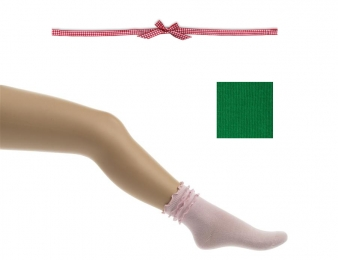 BONNIE DOON Frou Frou Socken grün