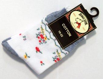 BONNIE DOON Afternoon Tea Socken blau/weiß