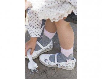 BONNIE DOON Delusion Socken grau/rosa