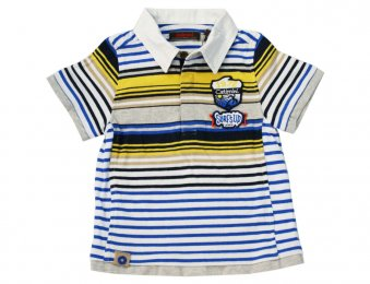 CATIMINI Poloshirt Raye Bleu