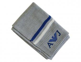 ARMANI JUNIOR Winter Schal in grau