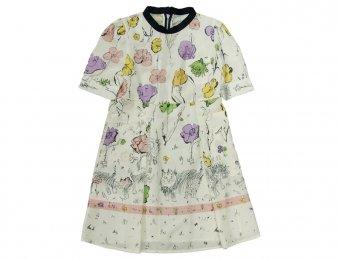 MARNI Sommerkleid mit Blumenmuster