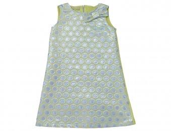 ELSY Girl Sommerkleid Gelb & Silber