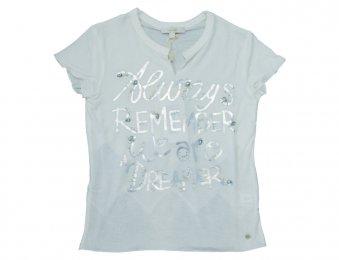 MISS GRANT Sommer T-Shirt mit Print Weiß