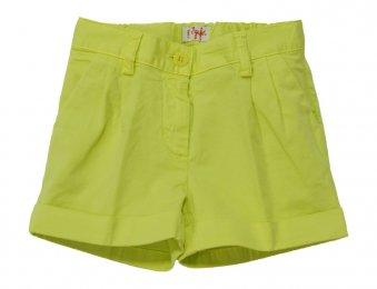 IL GUFO Sommer Shorts für Mädchen Limette