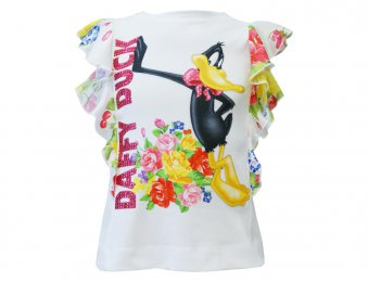 MONNALISA T-Shirt mit Volant
