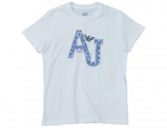 ARMANI JUNIOR T-Shirt AJ in Weiß