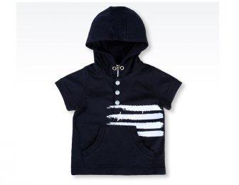 ARMANI BABY Sommer T-Shirt in blau