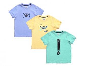ARMANI JUNIOR Sommer T-Shirts Set für Jungen
