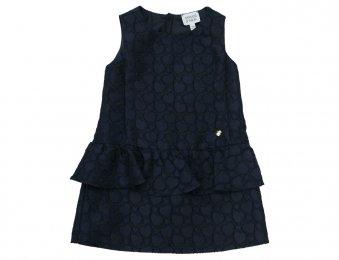 ARMANI JUNIOR elegantes Kleid in Blau