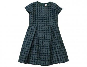 IL GUFO Taft Kleid in Blau