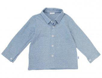 IL GUFO Jersey Hemd in Blau