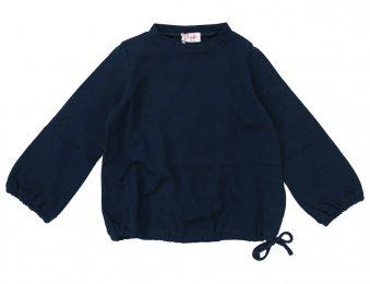 IL GUFO Viskose Pullover in Blau