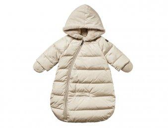 IL GUFO Baby Daunen Schlafsack in Beige