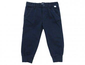 IL GUFO Hose mit Bündchen am Bein in Blau
