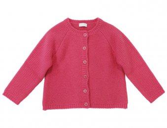 IL GUFO Strickjacke Cardigan für Mädchen in Pink
