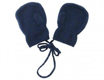 LES LUTINS Kaschmir Kinder Handschuhe Fäustlinge in Blau