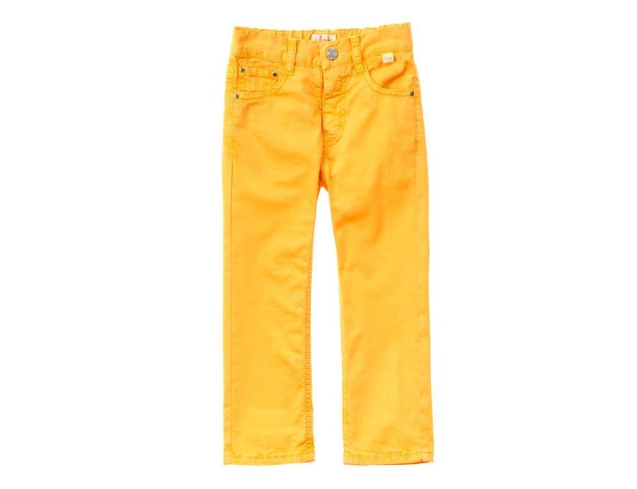 klassisch tolle Passform neues Design IL GUFO Sommer Hose für Jungen Gelb
