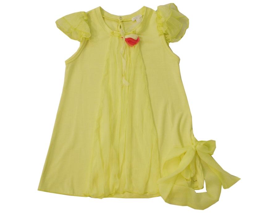 Kleid neon gelb