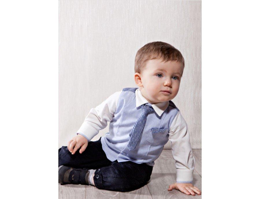 zoerea 4tlg baby jungen bekleidungssets hemd hose. Black Bedroom Furniture Sets. Home Design Ideas