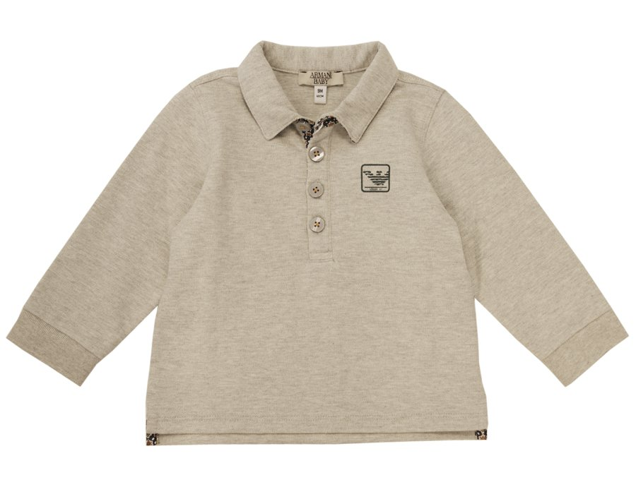 2015 Winter Baby Polo Shirt Boys Armani Gray YTppq