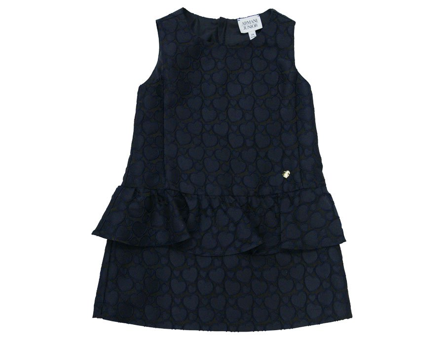 ARMANI JUNIOR elegantes Kleid in Blau, Winter 2016