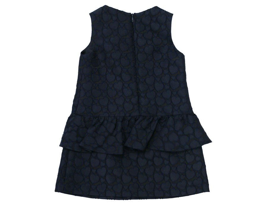 ARMANI JUNIOR Girls Navy Dress | Winter 2016