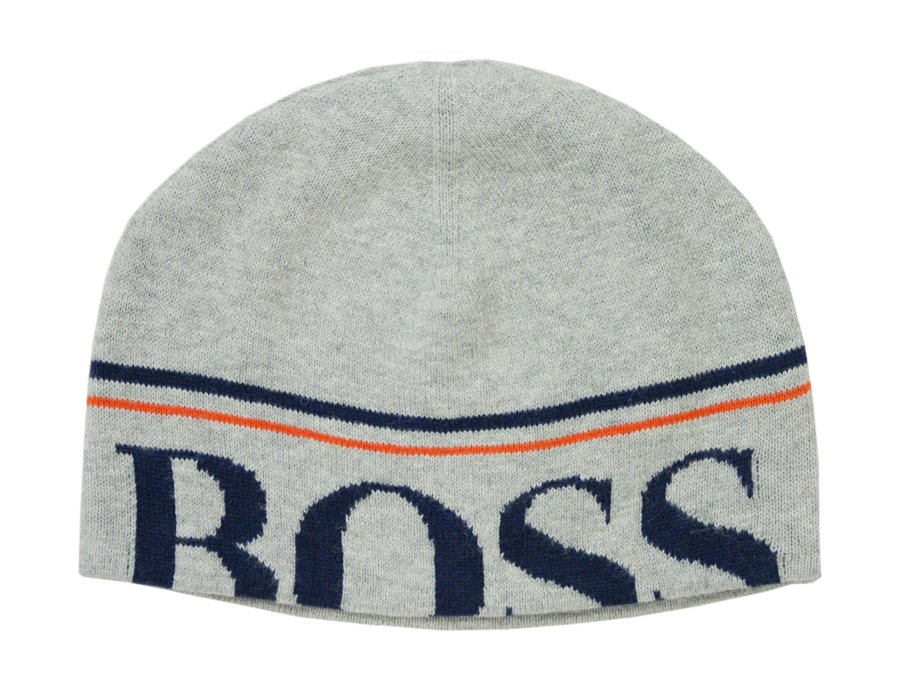 85327b90 HUGO BOSS Boys Grey Hat | Winter 2016