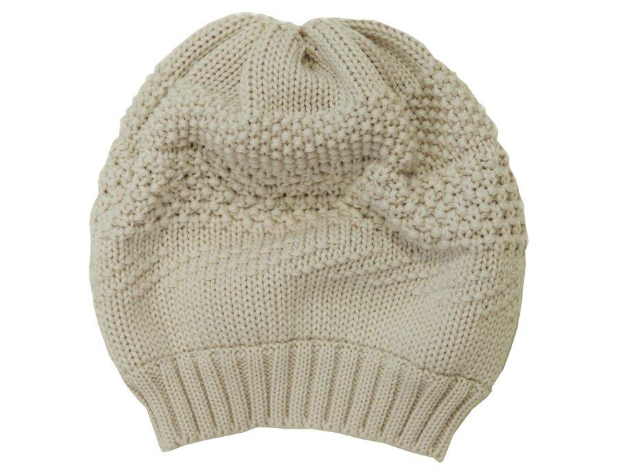 CATYA Girls Beige Wool Winter Hat 2c9108c1a3e