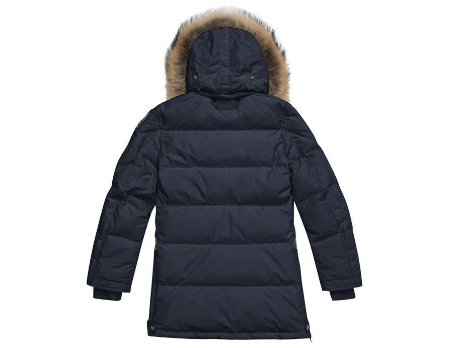 sale retailer 59fbb 82401 PARAJUMPERS Mädchen Daunenmantel Long Bear in Blau