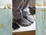 Very useful socks for boys of BONNIE DOON