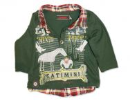 CATIMINI Urban grünes Poloshirt für Jungen