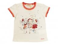 KENZO KIDS lustiges T-Shirt für Mädchen Ecume