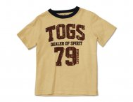 CHEVIGNON Kids lässiges T-Shirt in beige mit Print