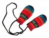 CATIMINI gestreifte Handschuhe für Mädchen