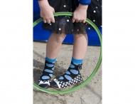 BONNIE DOON Fiesta Socken blau/schwarz