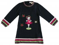 KENZO KIDS girls knit dress Nuit