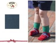 BONNIE DOOON Baby Sneaker Socken blau/grau