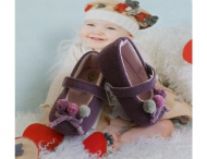 BABY GRAZIELLA baby shoes with 3D-bows