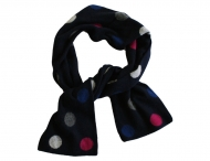 ELSY GIRL winter scarf with dot pattern