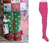 BONNIE DOON Strumpfhose Dots Pink