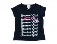 ARMANI JUNIOR Sommer T-Shirt für Mädchen Blau