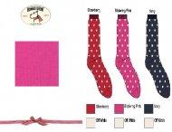 BONNIE DOON Dots Socken pink