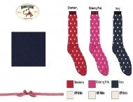 BONNIE DOON Dots Socken marine