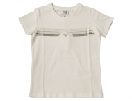 ARMANI JUNIOR Sommer T-Shirt mit Pailletten