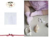 BONNIE DOON Baby Frou Frou Socken weiß