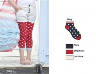 BONNIE DOON Juicy Dots Socken Marine